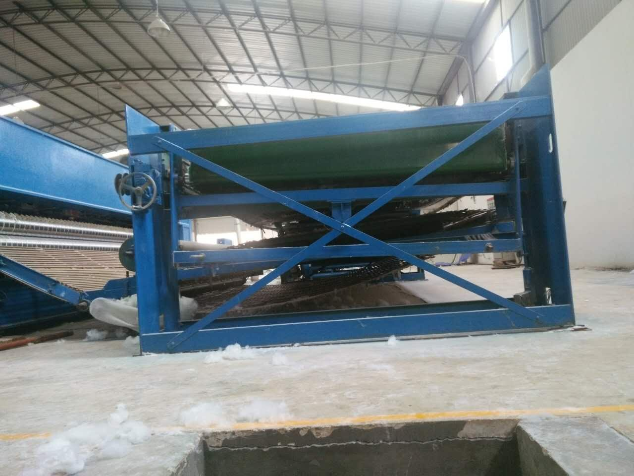 Felt Fiber Mattress Making Machine 3.5 M With Non Woven Needle Punching Machine