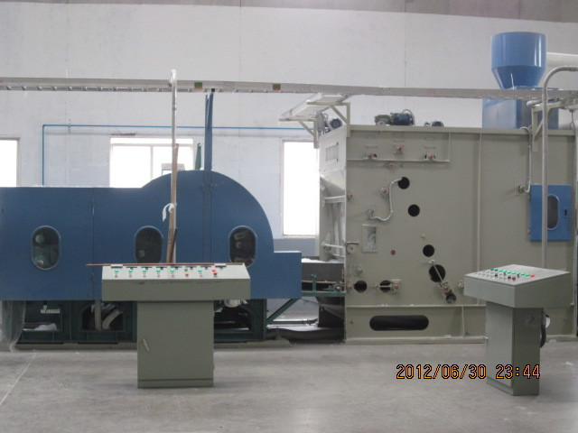 Customized Quilt Filling  Non Woven Fabric Making Machine 5000mm With CE / ISO